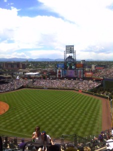 Go Rockies! Truth: they never win.