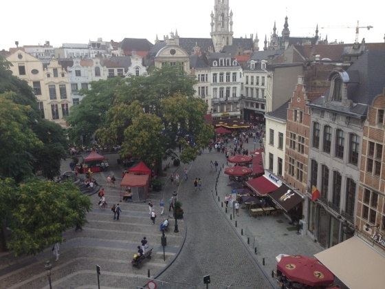 Brussels, Belgium: our first night